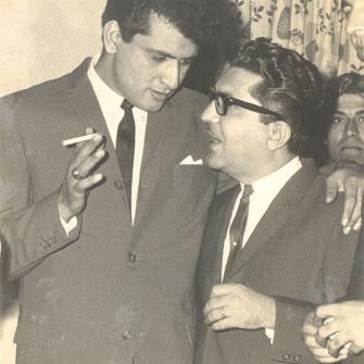 Manoj Kumar and N.N. Sippy
