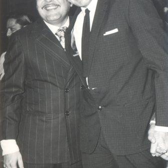 N.N. Sippy with Raj Kumar